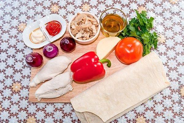 Буррито: ингредиенты