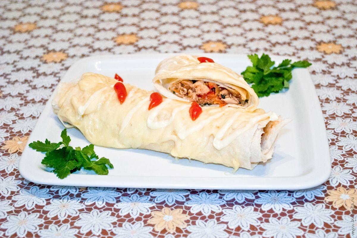 Бурито— рецепт мексиканского блюда
