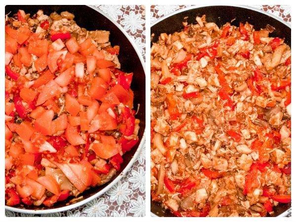 Шаг 6: Добавляем помидоры