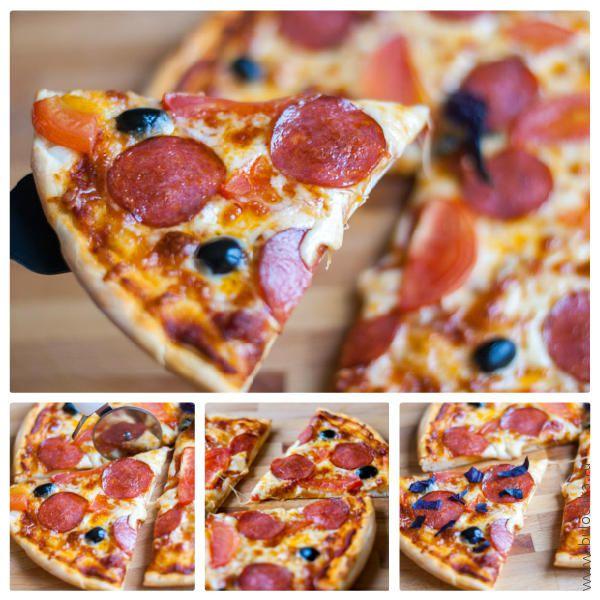 Домашняя пицца готова