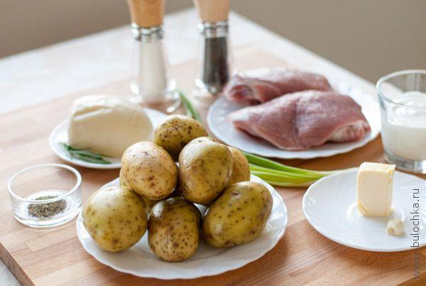 Ингредиенты для картофеля по-французски