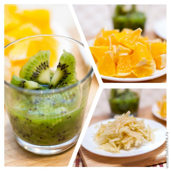 Измельчаем фруктовые ингредиенты