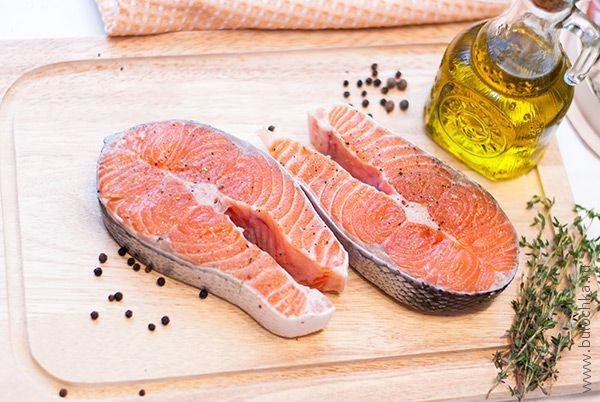 Ингредиенты для приготовления стейка из сёмги