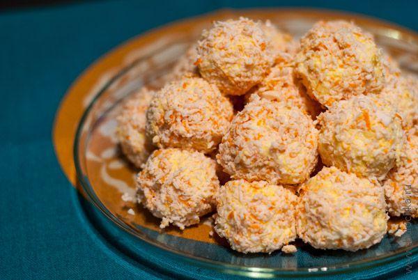 Сырные шарики готовы!