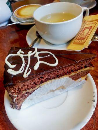 Торт «Пироговый дворик»