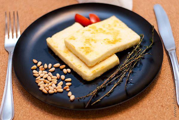 Жареный сыр готов