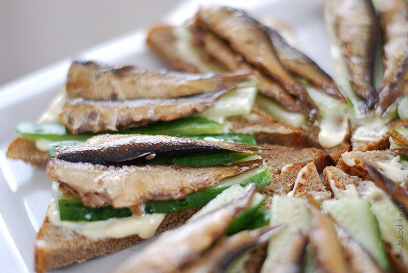 Бутерброды сошпротами