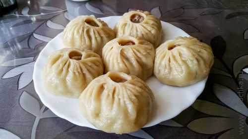 Буузы в кафе «Хаан бууз», Улан-Удэ