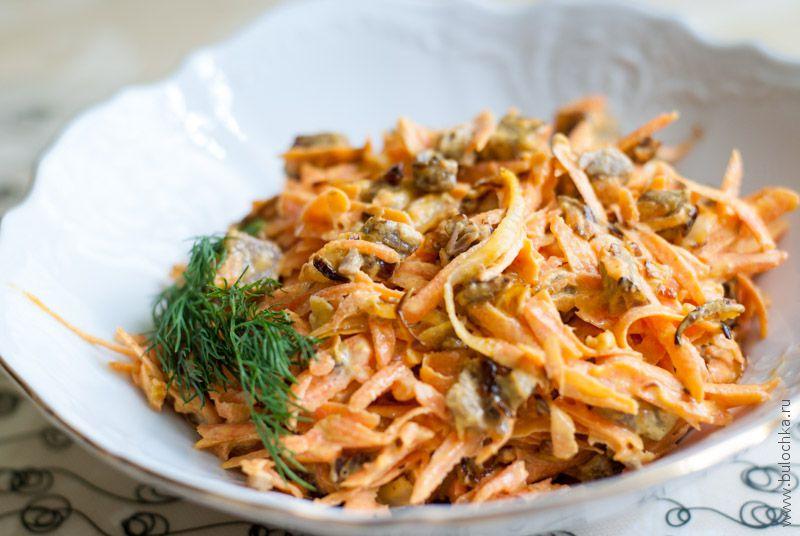 Салат «Обжорка» изговядины иморкови