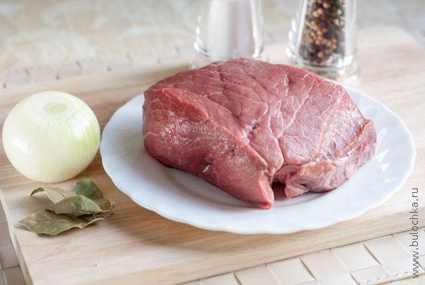 Ингредиенты для говяжьего бульона