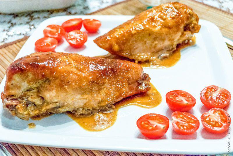 Рецепт курицы с горчицей
