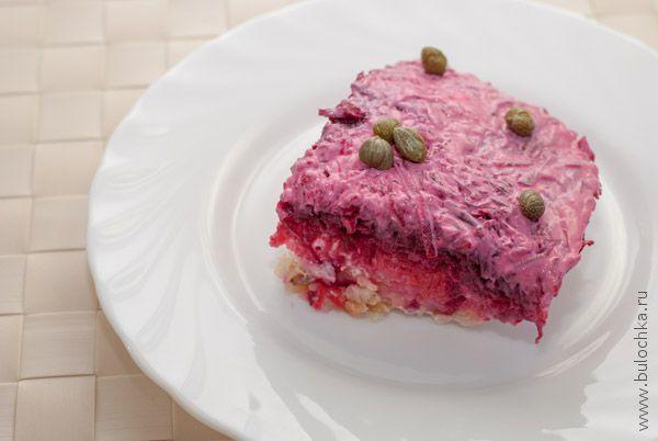 Рецепт салата «Сельдь под шубой»