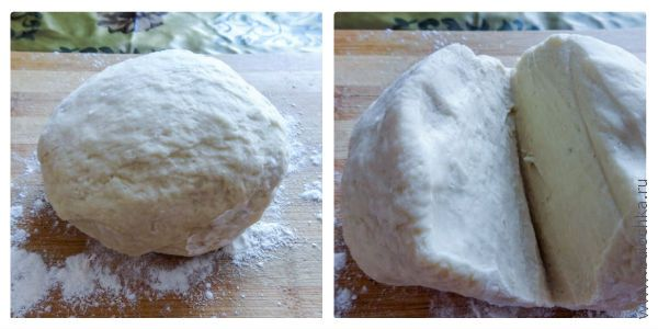 Тесто для пельменей готово!