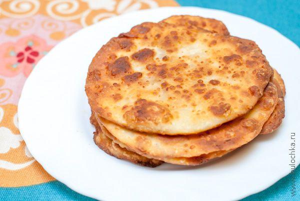Сырные лепешки без начинки
