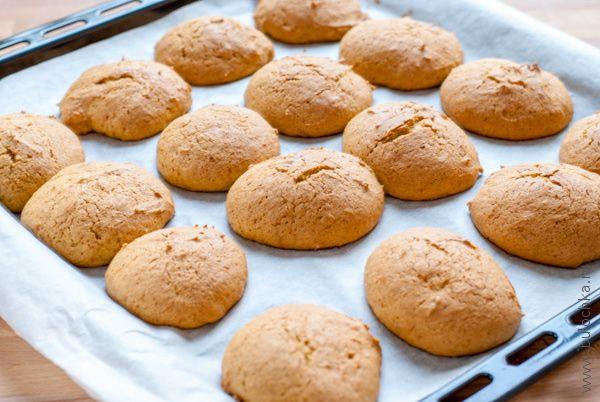 Тыквенное печенье из духовки