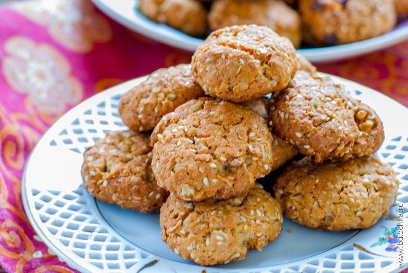 Печенье из мюсли