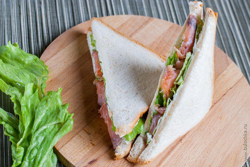 Бутерброды ссёмгой