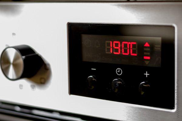 Разогреваем духовку до 190С