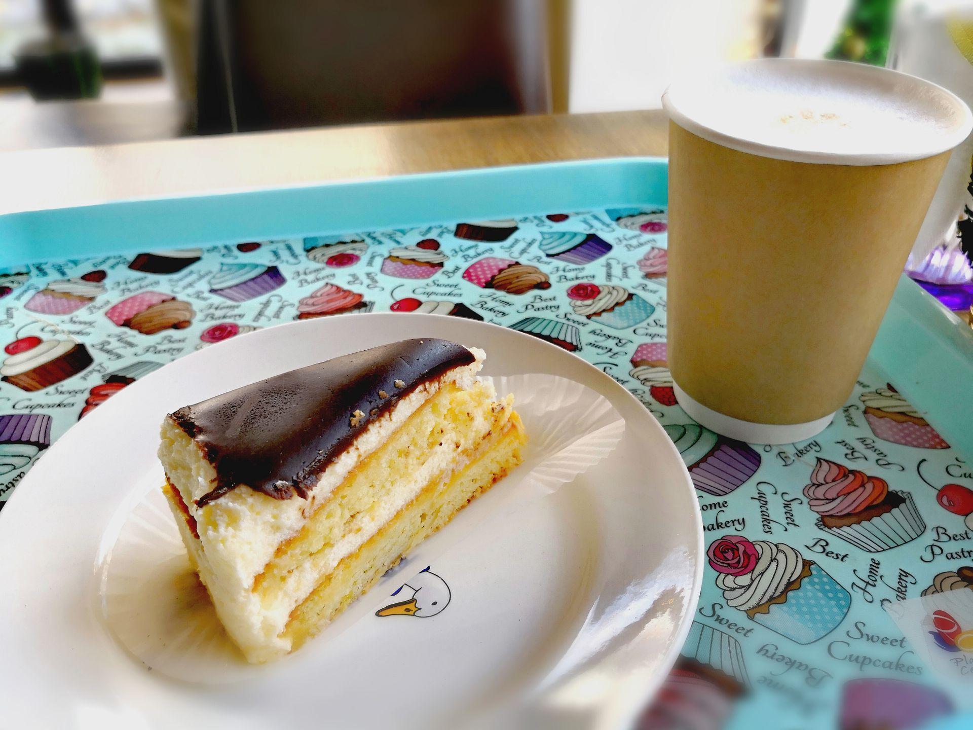 Торт «Птичье молоко» и Латте