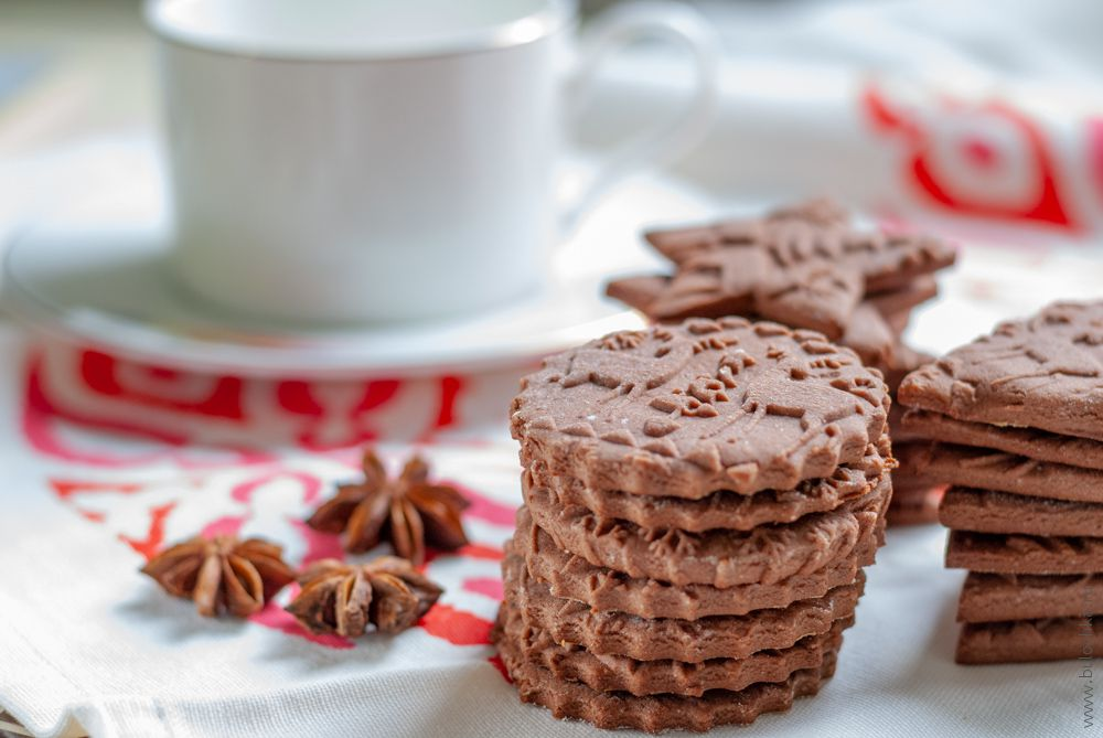 Имбирное печенье— рецепт для скалки сузором