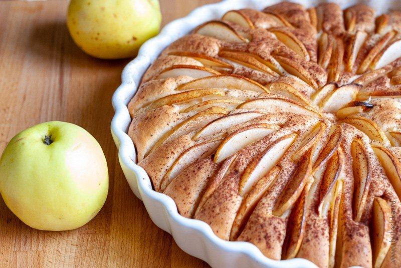Яблочный пирог готов