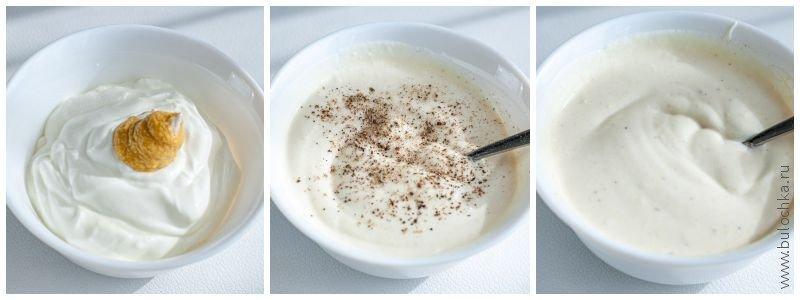 Готовим соус для салата «Коул Слоу»