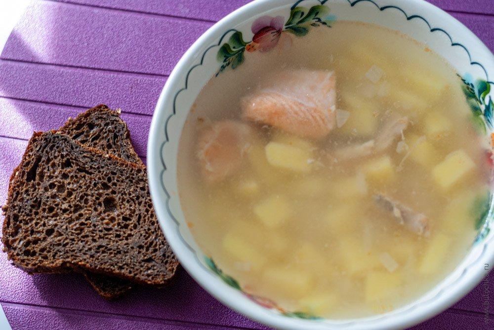 Рыбный суп изфорели