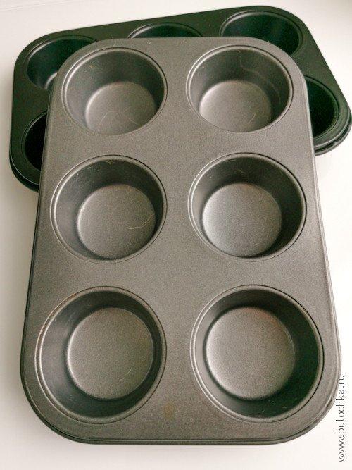 Форма для выпечки маффинов и кексов