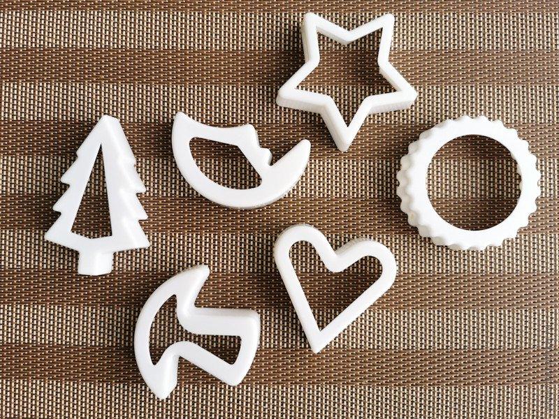 Фигурные формы для вырубки печенья ипряников