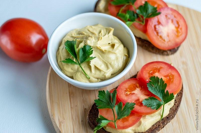 Пюре из авокадо для приготовления бутербродов