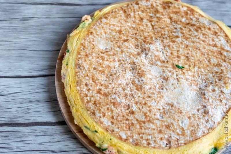 Завтрак из лаваша — готовый вариант блюда