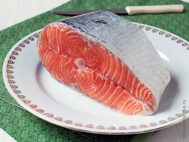 Подготовим кусок рыбы